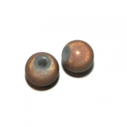Perle magique miracle 8mm marron