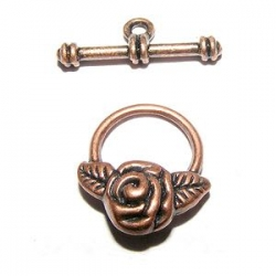 Fermoir Toggle rose cuivre