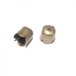 Caps coupelleen métal bronze 6,5 mm