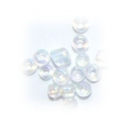 Rocaille ronde 3mm Cristal AB