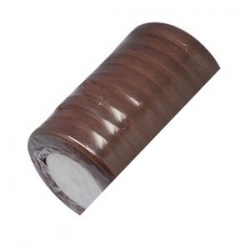 Ruban organza 12mm de largeur marron
