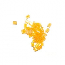 Rocaille cube 2.2mm Orange AB