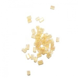 Rocaille cube 2.2mm Jaune AB