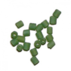 Rocaille cube 1.5mm verte
